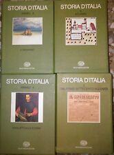 STORIA D ITALIA 10 volumi completa + ANNALI primi 6 volumi EINAUDI 1972 - 1982