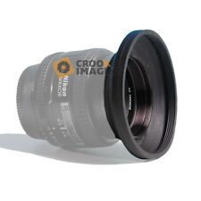 62mm RUBBER LENS HOOD WIDE ANGLE UNIVERSAL Screw Mount By Kood - FREE UK P&P