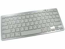 Ultra Slim Portable Bluetooth Keyboard - Mobile Tablet Android iOS Windows