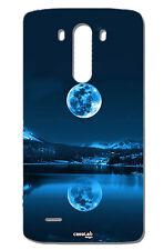 CUSTODIA COVER CASE LUNA PIENA RIFLESSA NEL LAGO  LG  G3 D855  D850  4G LTE 16GB