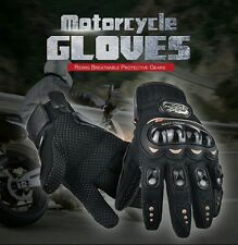PRO- BIKER MOTORCYCLE  moto sport gear BIKE RIDING GLOVES BLACK COLOUR SIZE XL