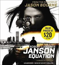 Robert Ludlum's The Janson Equation Creator Jason Bourne Audiobook 12 hrs 10 CDs