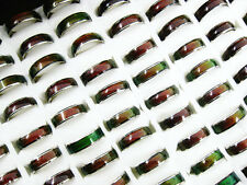 Wholesale Lots 20pcs Color Changable Mood Rings J125