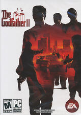 The Godfather II - US Version PC Games - God Father 2 DVDRom - BRAND NEW Sealed!