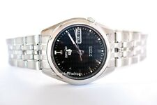 SEIKO 5 Automatic Watch Mens 21 Jewels Stainless Steel SNK361k1 Crystal Glass