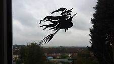 Scary Witch Spooky Car/Bike/Window/Wall/Laptop Halloween Vinyl Decal Sticker (b)