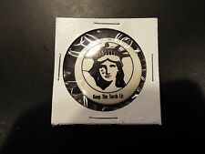 """""""Keep the Torch Lit"""" Vintage Statue of Liberty Button"""