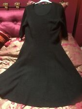 HOBBS Pure Wool Dress Size 12 Excellent Condition