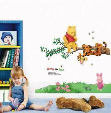 ORSO WINNIE THE POOH Tigro Adesivo Da Parete Decorazione Decalcomania Bambini
