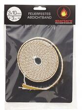 starters® Ofendichtschnur 3 x 10 mm x 3 m selbstklebend
