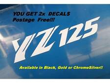 YAMAHA YZ125 GRAPHICS Stickers Decals