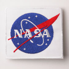 NASA US Space Agency Apollo Logo Quality Iron-On Embroidered Patch FREE POSTAGE