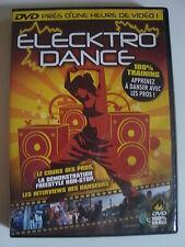 DVD ELECKTRO DANCE 100% training apprenez à danser avec les pros !