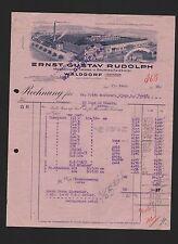 WALDDORF, Rechnung 1932, Baumwoll-Weberei Ernst Gustav Rudolph