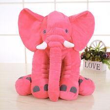 40cm Almohada Cojín Nuevo Elefante Suave Juguete de Peluche Muñeca para niños
