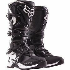 Fox Racing Youth Black Kids Comp 5 Dirt Bike Boots Motocross 2016 SIZE 2