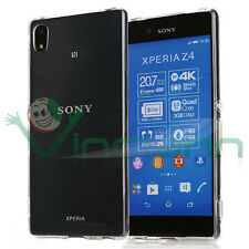 Custodia AIR cover trasparente per Sony Xperia Z3+ Plus Z4 case ultra sottile