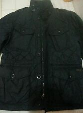 "$495 Polo Ralph Lauren Filmore Quilted Combat Jacket NORTHFIELD NAVY SZ ""M"""