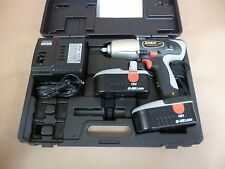 "1/2"" DRIVE 18 VOLT CORDLESS IMPACT WRENCH 330 Ft-Lbs W/ 2 BATTERIES & CHARGER"