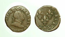 pcc1585_85) FRANCE Double Tournois - Henry IV to study
