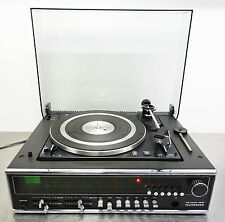 Vintage HiFi receiver turntable Record Player Telefunken HiFi Center 4040 ~ 1973