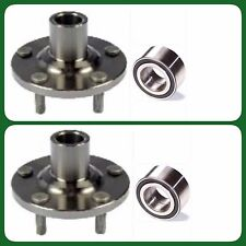 2 FRONT WHEEL HUB & BEARING FOR PONTIAC TOYOTA CELICA COROLLA MATRIX NEW