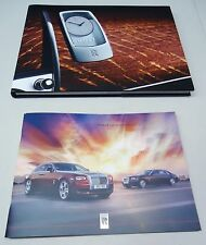 ROLLS-ROYCE GHOST SERIES 2 FULL BROCHURE & PRODUCT OVERVIEW BROCHURE BOOK SET