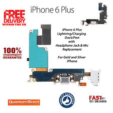 Replacement Charging Dock/Port Assembly + Headphone Jack + Mic FOR iPhone 6 Plus