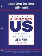 A History of US: Johns Hopkins University Student Workbook for Book 10 Hofus...