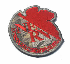 NERV GOD'S IN HIS HEAVEN ALL'S RIGHT WITH THE WORLD ARMY MORALE HOOK PATCH *02