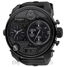* NUOVO * Mens DIESEL Digital al quarzo SBA XL 4 fuso orario watch-DZ7193-Rrp £ 309