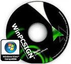 WINPCSIGN BASIC 2012 deutsch Schneidesoftware für Schneideplotter !!!