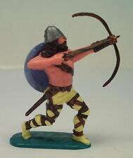 Timpo Toys Wikinger Viking Bogenschütze mit hellblauem Schild