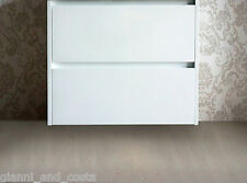 BATHROOM VANITY UNIT - 750mm POLYURETHANE WALL HUNG - CABINET ONLY