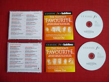 Classic FM - The Nation's Favorite Vol.1 & Vol. 2, Collection No.167a & 167b