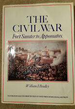 THE CIVIL WAR Fort Sumter To Appomatox - William J Bradley XL Display/Gift Book
