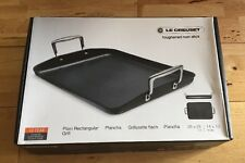 Le Creuset Toughened Non-Stick Rectangular Grill - 35 cm