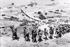 WW2 - CP -  Le débarquement des hommes en renfort à Omaha Beach