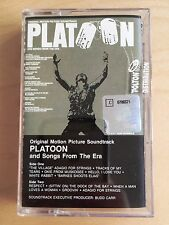 PLATOON - soundtrack the Doors Jefferson Otis Reeding MC 1992 RARE POLISH PRESS