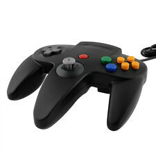 USB Controller Joypad Joystick Gamepad Gaming For Nintendo N64 PC Mac Black