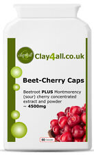 Beet-Cherry Caps – Montmorency cherry and beetroot formula