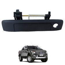2012+ Ford Ranger Ute T6 Tailgate Door Handle MATT Black Shine 1 KeyHold