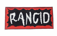 RANCID mbroidered Rock Band Iron On or Sew On Patch UK SELLER Patches