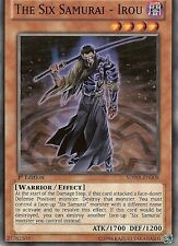 YU-GI-OH: THE SIX SAMURAI - IROU - SDWA-EN008 - 1st EDITION