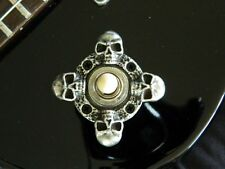 SKULL TOGGLE SWITCH COVER fits Jackson warrior guitar 3-WAY selector ring plate