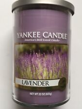 Yankee Candle LAVENDER 22 OZ TUMBLER 2-WICK RETIRED SCENT FREE SHIPPING