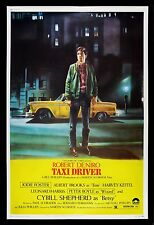 TAXI DRIVER * CineMasterpieces HUGE 40x60 ORIGINAL MOVIE POSTER NM-M 1976