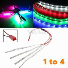 1 to 4 12SMD LED Light Strip JST Plug Connector for Multi-Rotor Quadcopter