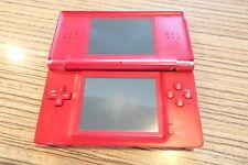 DS Lite Rot. Gameboy, Nintendo . Scharnierbruch Display Oben def. (29)   Defekt
