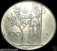 Republic of Italy - Italian 100 Lire Coin -  Olive Tree Coin